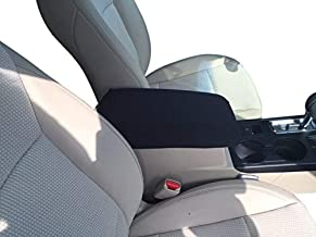Auto Console Covers- Compatible with The Honda Element 2007-2010 Center Console Armrest Cover Waterproof Neoprene Fabric- Black