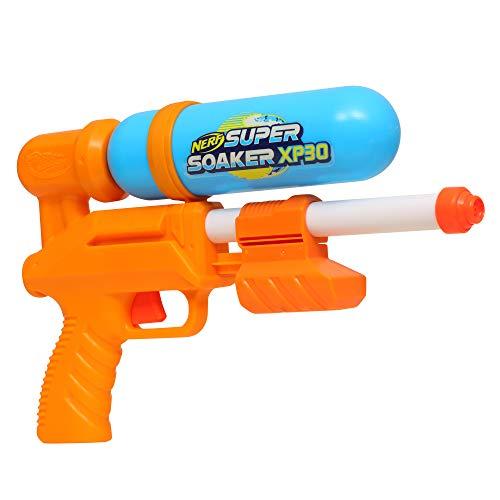 Nerf Super Soaker XP30 Wasserblaster – Wasser-Action mit Druckluft – abnehmbarer Tank – für Kinder, Teenager, Erwachsene