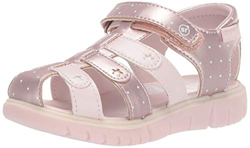 Stride Rite baby-girls Olive Sandal , pink 8 M US Toddler