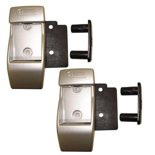 Fiamma 98655-728 WALL BRACKETS – Wandhalterungen Alu - silber