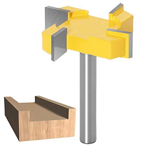 WSOOX 8mm Tige Routeur Bit CNC Fraise, Fraise à bois raboter outil de travail du bois, Embouts de fraisage CNC pour planche à bois