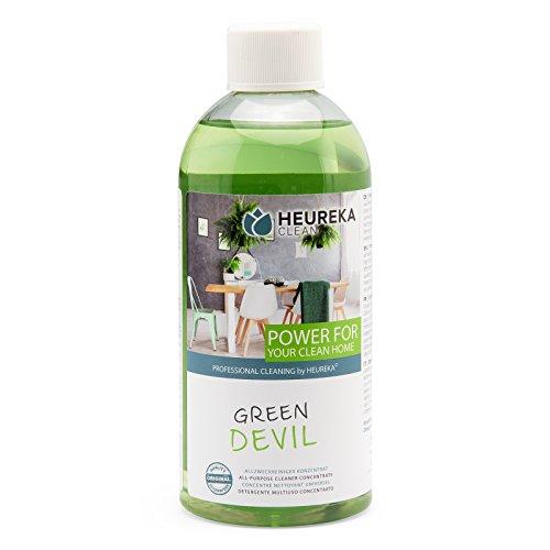HEUREKA Allzweckreiniger Konzentrat - Green Devil, 500 ml für 450 l Reiniger