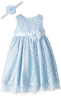 Disney Girls' Princess Cinderella Role Play Dress with Matching Headband
