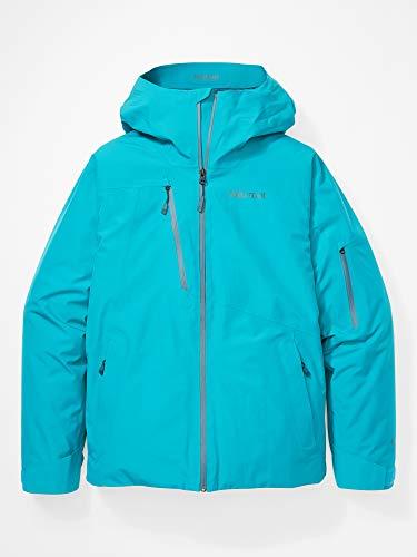 Marmot Lightray Jacket Giacca Da Neve Rigida, Abbigliamento Per Sci E Snowboard, Antivento, Impermeabile, Traspirante, Uomo, Enamel Blue, L