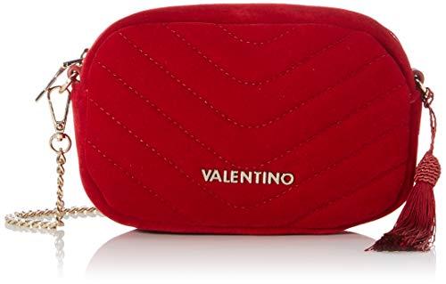 Mario Valentino Valentino by Damen Carillon Umhängetasche, Rot (rosso), 5.5x12.5x18 cm