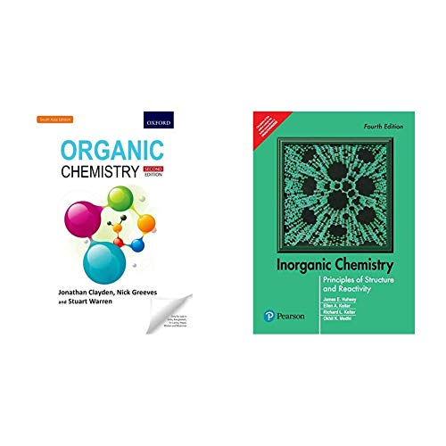 Organic Chemistry: Second Edition + Inorganic Chemistry: Principles of Structure and Reactivity, 4e (Set of 2 Books)