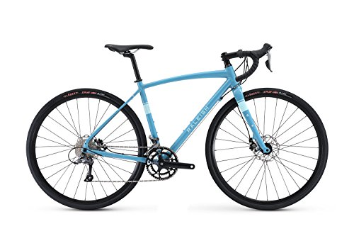 Raleigh Bikes Women's Amelia 1 Gravel Adventure Road Bike, 50cm/Small, Blue