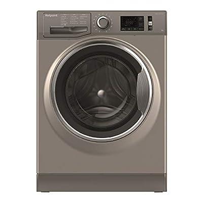 Hotpoint NM11946GCAUK A+++ Rated Freestanding Washing Machine - Graphite