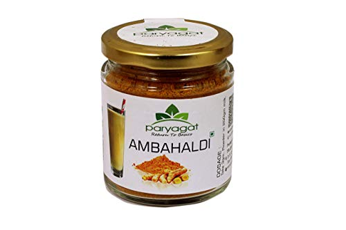 Paryagat - 100% Pure and Natural Amba Haldi Powder Golden Milk Turmeric Latte I Haldi Milk I Turmeric Milk I Immunity Booster I Antioxidants I Anti-Inflammatory - 100 gm