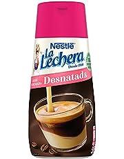 Nestlé La Lechera Leche condensada desnatada - Botella de leche condensada desnatada Sirve Fácil - Caja de 12 x 450 g