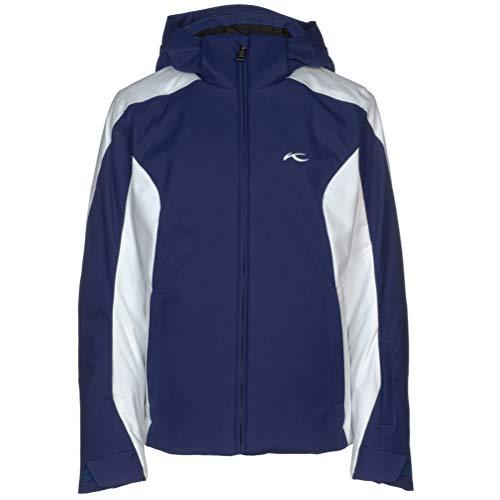 KJUS Girls Formula Jacket Blau, Kinder Regenjacke, Größe 176 - Farbe Into The Blue - White