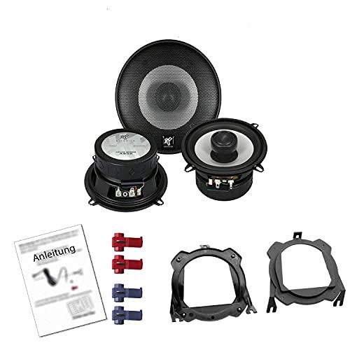 Hifonics Atlas AS52 Auto Lautsprecher 320W 130 mm 2 Wege Koax passend für Opel...