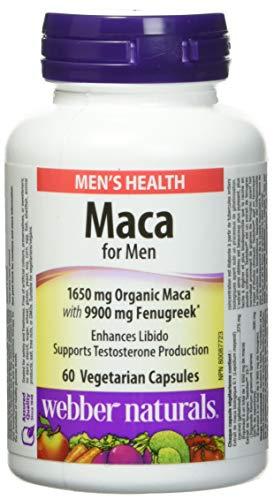 Webber Naturals Men's Maca 60 Count