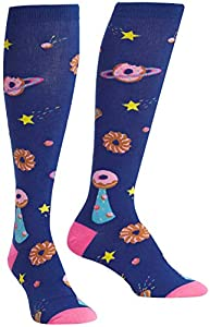 Sock It To Me Women's Einstein Relatively Cool Knee High Socks