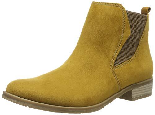 MARCO TOZZI Damen 2-2-25321-33 Chelsea Boots, Gelb (Mustard 606), 38 EU