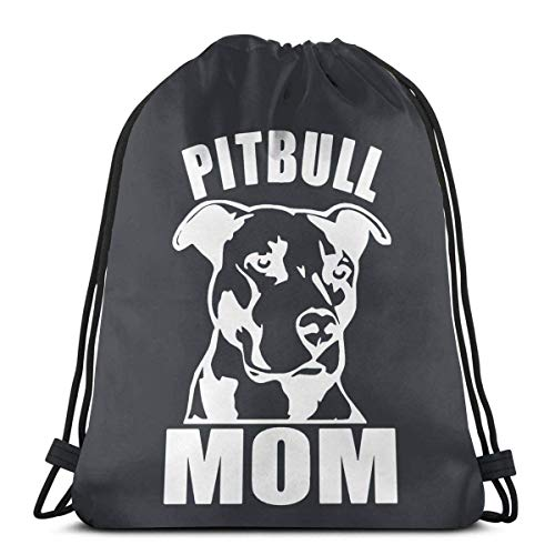 Pitbull Mom Drstring Bapa Sport Gym Sapa Borsa da viaggio per bambini Uomo Donna