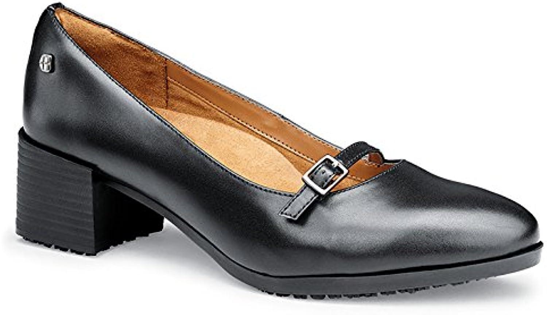 Schuhe for Crews 57487-37 4 MARLA Lederschuh, Damen, rutschhemmende, Größe 37 EU, Schwarz