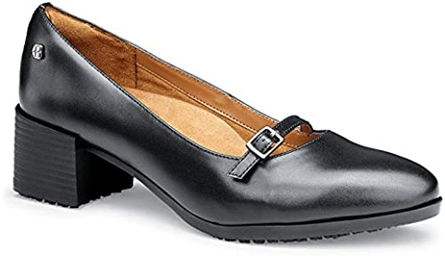 chaussures for Crews Marla Chaussures en cuir, femme, femme, femme, antidérapante, taille 43EU Taille, Noir (Pack of 1) cf6