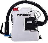 NOVUKI Pulverizador Eléctrico ULV | Mochila para fumigar | Máquina portátil de Desinfección | Depósito de 12 L | 220 V