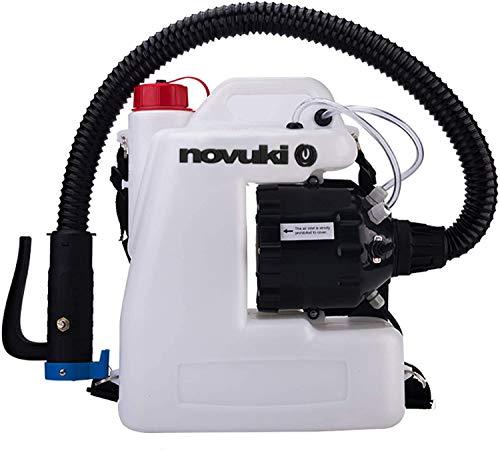 NOVUKI Pulverizador Eléctrico ULV | Mochila para fumigar | Máquina portátil de...