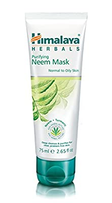 Himalaya Purifying Neem Mask with Turmeric, Normal to Oily Skin, 75 ml