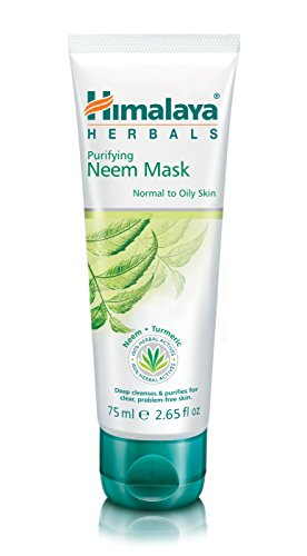 Himalaya Purifying Neem Mask, helps to regulate excess oil secretion, cleans pores, 75 ml