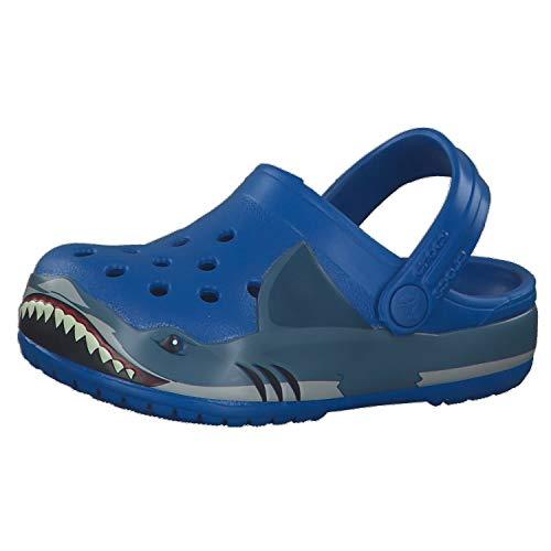 crocs Crocs Fun Lab Shark Band Clg K, Unisex-Kinder Dusch- & Badeschuhe, Helles Kobalt, 29/30 EU