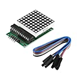 MAX7219 8 * 8 Módulo de Matrix Matrix MÓDULO MÓDULO MÓDULO DE Pantalla DE MICROCONTROLOR MCU LED Modelo de Control de Pantalla para Arduino 5V (Color : 1 Set)