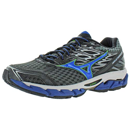 Mizuno Mens Wave Paradox 4 Trainers Low Top Running Shoes Gray 7.5 Medium (D)