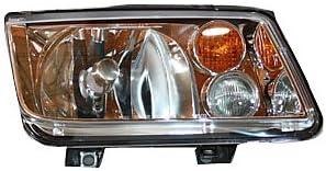 TYC 20-5653-60 Volkswagen Jetta Assembl (人気激安) 予約販売 Side Headlight Passenger