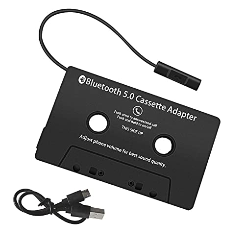 ZHITING Kassetten Adapter für Autoradio,KFZ-Kassettenadapter,Auto-Audio-Kassette auf AUX-Adapter,Geeignet für Autoradio