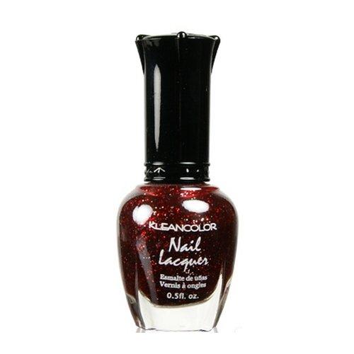 KLEANCOLOR Nail Lacquer - Red Sparkle