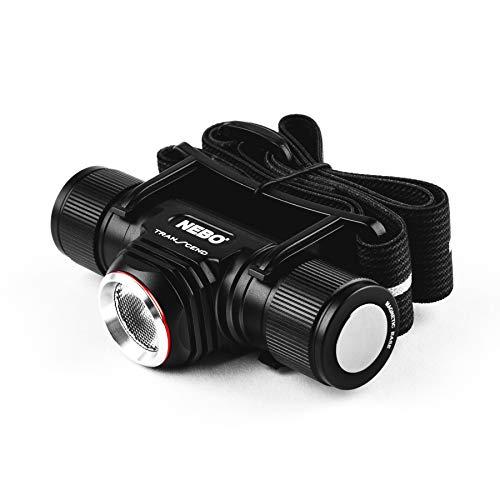 NEBO Transcend 1000-Lumen Headlamp Flashlight: 5 Mode Rechargeable LED Head Lamp; 1,000 Lumen Turbo function; adjustable reflective head strap - 7001