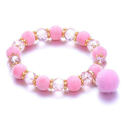 Jewellery Bracelets Bangle For Womens Bead Bracelet Stone Strand Couple Bracelets Male Female Jewelry Charms Tassel Bangle-Rhodium_Plated