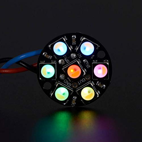 Shangjing 3Pcs Round 7x 5050 RGBW Cool White LED 6000K Display With Integrated Drivers Module Display accessories