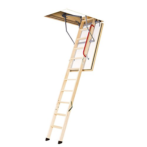 FAKRO LWF 869718 U.S. Certified Fire Resistant Attic Ladder for 22-1/2 x 54-Inch Rough Openings