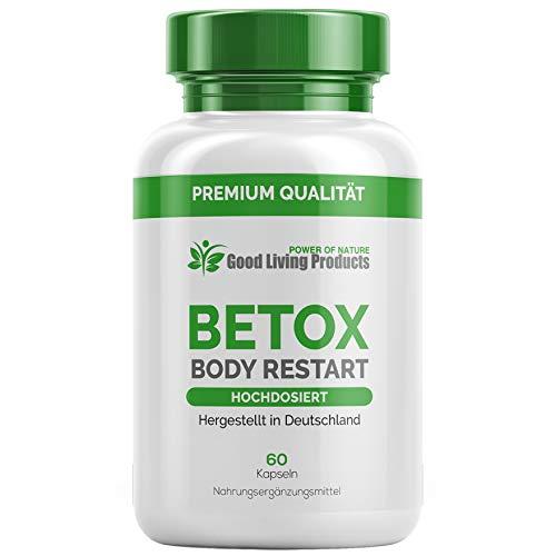 Betox Body Restart | Kur | Entschlackung & Abnehmen | DARMFLORA | Reinigung | Entschlackungskur | 60 Kapseln (1)