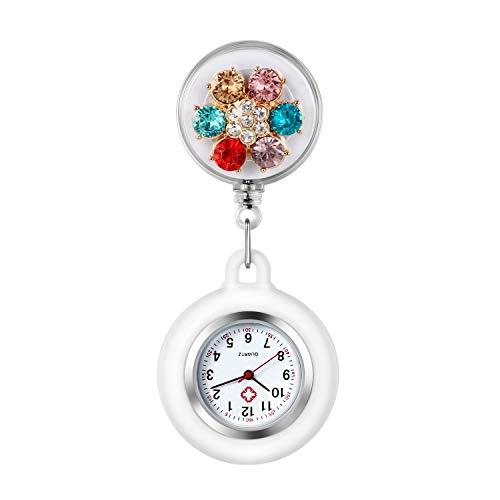 Reloj de Enfermera, Clip de Reloj de enfermería retráctil