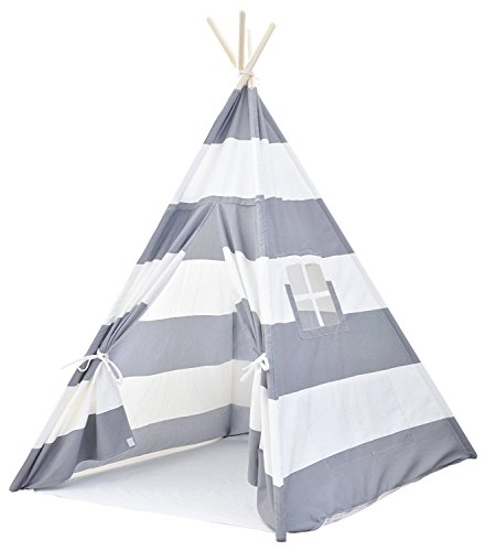 Kids Teepee Tent for Girls, No Toxic Chemicals Added, Carrying Case, Pink Play Tents Indoor for...