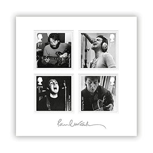 Paul McCartney en el Studio Mount por Royal Mail