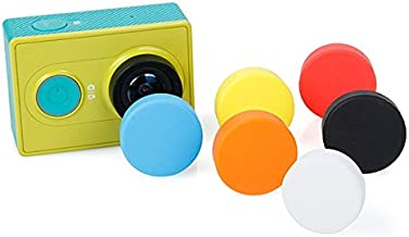 EANDE Silicone Lens Cap for Xiaomi Yi GoPro Hero4 Random Color Delivery Durable