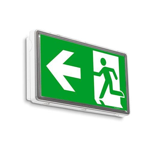 IP 65 LED Notleuchte Notbeleuchtung Exit Notausgang Fluchtwegleuchte Notlicht Fluchtweg