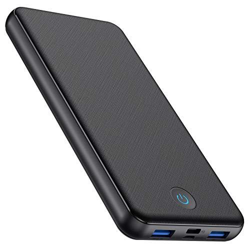 モバイルバッテリー 大容量 26800mAh Type-C出力 18W急速充電 PD対応 QC3.0対応4USBポート 3台同時充電 持ち運び充電器 旅行 出張 緊急用 防災グッズ iPhone iPad Android各機種に対応 (ブラック)