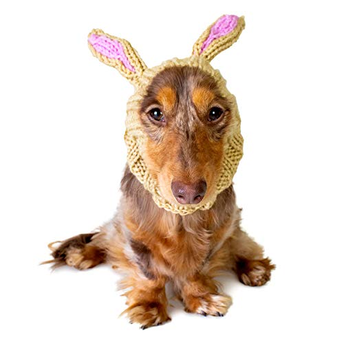 Zoo Snoods Jack Rabbit Dog Costume – Neck and Ear Warmer Hood for Pets (Small)