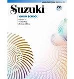 Suzuki Violin School, Vol 5: Violin Part, Book & CD (Suzuki Method Core Materials) (Paperback) - Common