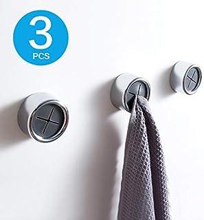 YuYaX Home Gancho para Montaje en Pared Cocina y Dormitorio a Prueba de Agua Ropa y Ganchos para Toallas Baño de Acero Inoxidable