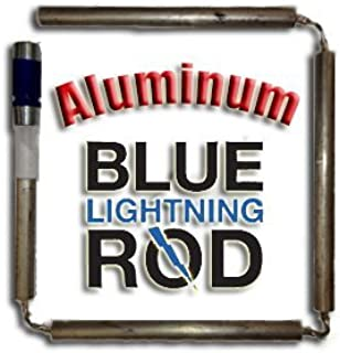 Blue Lightning Aluminum / Zinc Flexible Anode Rod, Nipple Fitting, 42