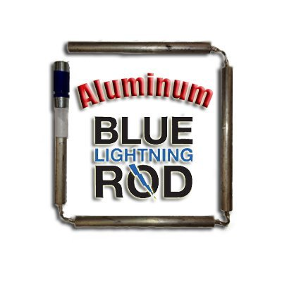 Blue Lightning 79119 Aluminum/Zinc Flexible Anode Rod, Nipple Fitting, 42'