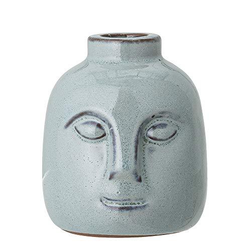 Bloomingville Kerzenständer, grün, Keramik