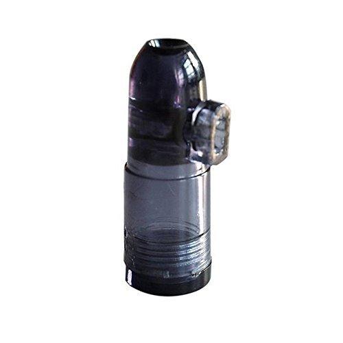 Dosificador Sniff Snuff, Botella para esnifar, dispensador distribuidor,  procesador de color negro